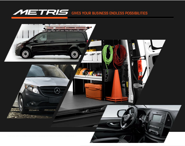 Metris. Gives your business endless possibilities.