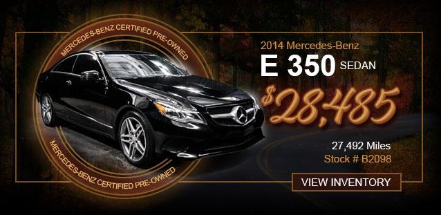 2016 Mercedes-Benz E 350 Sedan for $38,991