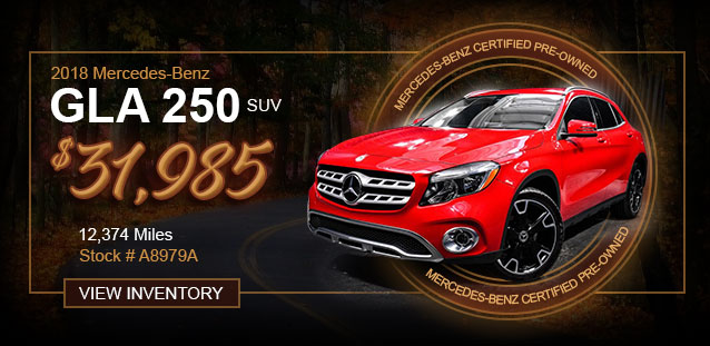 2018 GLC 300 SUV for $36,991