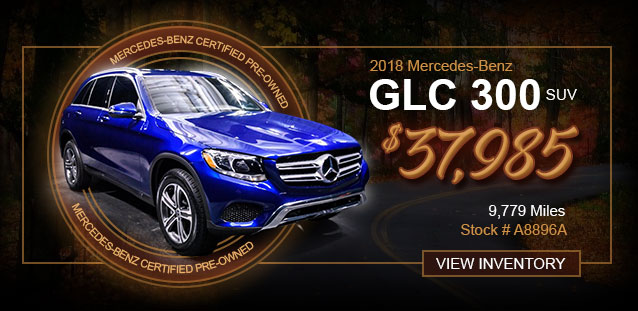 2018 GLE 350 SUV for $51,991