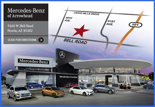 Mercedes-Benz of Arrowhead on Bell Road in Peoria, Arizona
