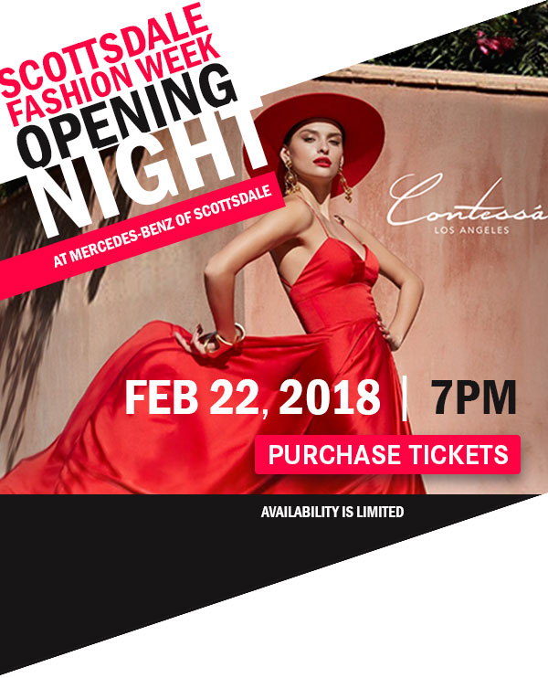 Scottsdale Fashion Week Opening Night at Mercedes-Benz of Scottsdale - Purchase Tickets